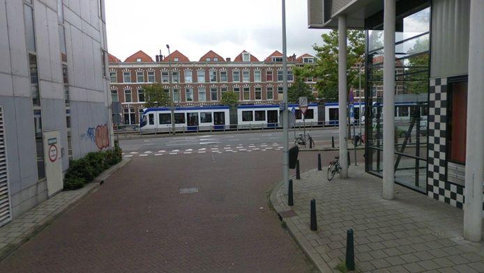 De Van Geenstraat richting richting de Loosduinsekade