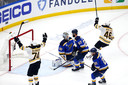 De Boston Bruins dwingen een zevende duel af.
