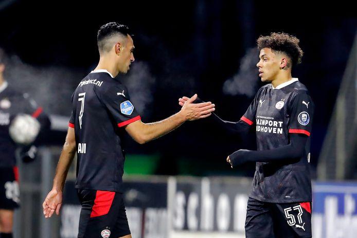 Jeremy Antonisse maakte op 26 januari met een korte invalbeurt zijn debuut voor PSV tegen FC Emmen.