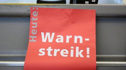 Grondpersoneel Berlijnse luchthavens staakt morgen