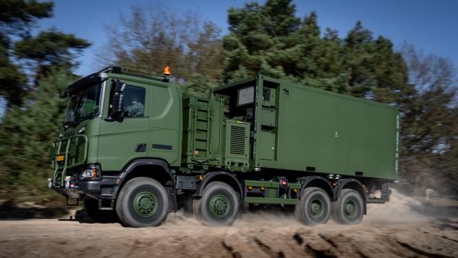 550 nieuwe vrachtwagens Defensie centimeters te hoog, mogen weg niet op