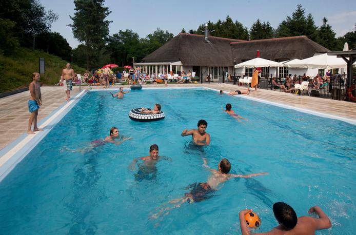 Het zwembad van De Thijmse Berg.