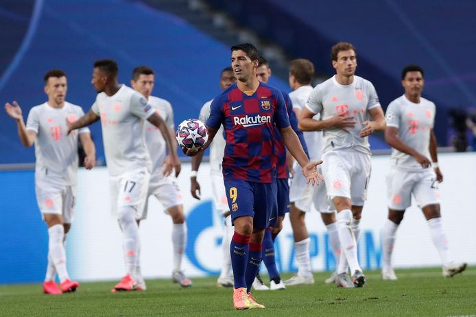 Bayern München verkocht Barcelona een oplawaai vanjewelste in de Champions League.