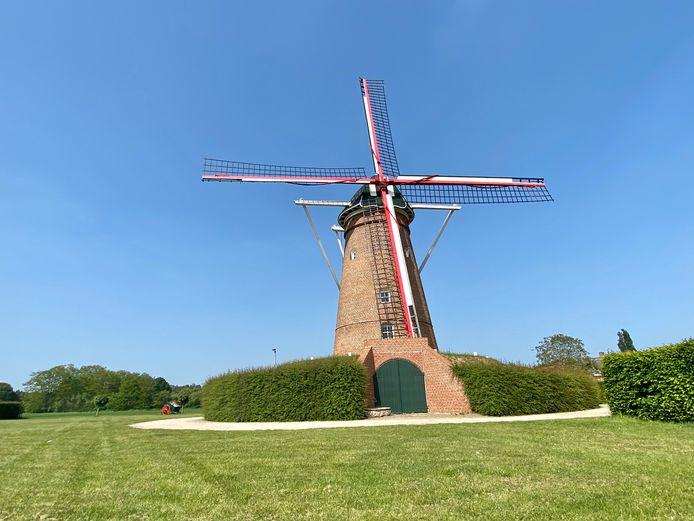 De molen van Pulderbos.