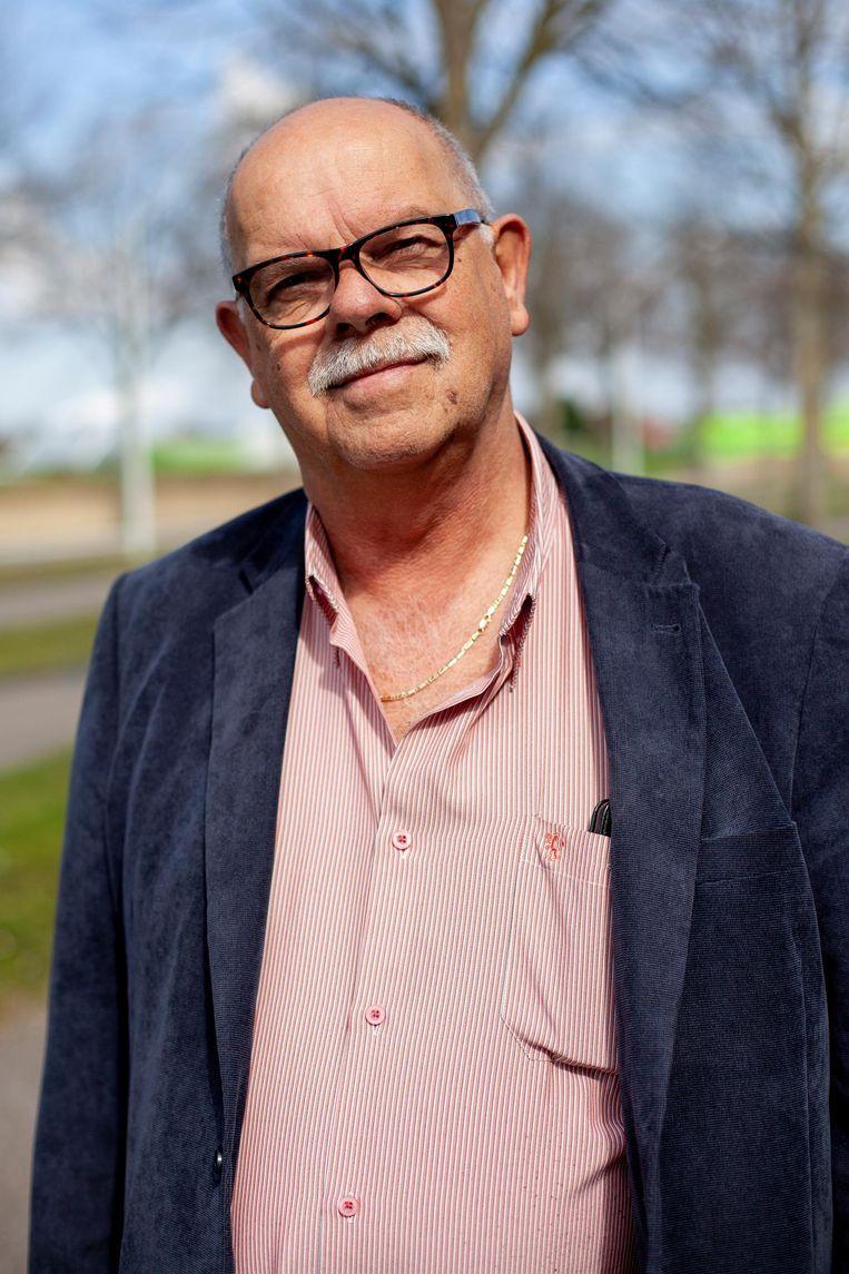 Hans Koenders (63) Beeld Lin Woldendorp