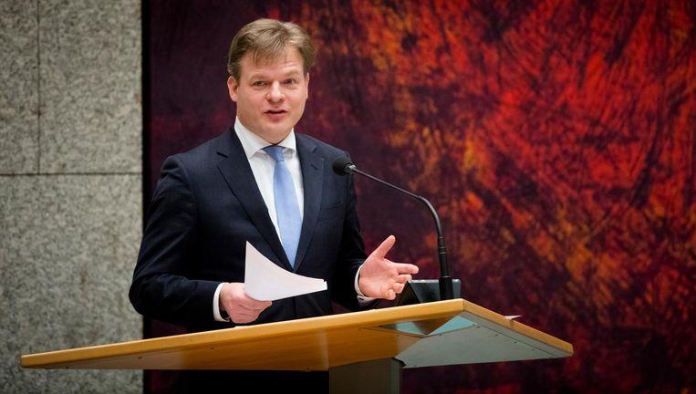 CDA-Tweede Kamerlid Pieter Omtzigt legt zijn woordvoerderschap over de ramp MH17 neer. Beeld ANP