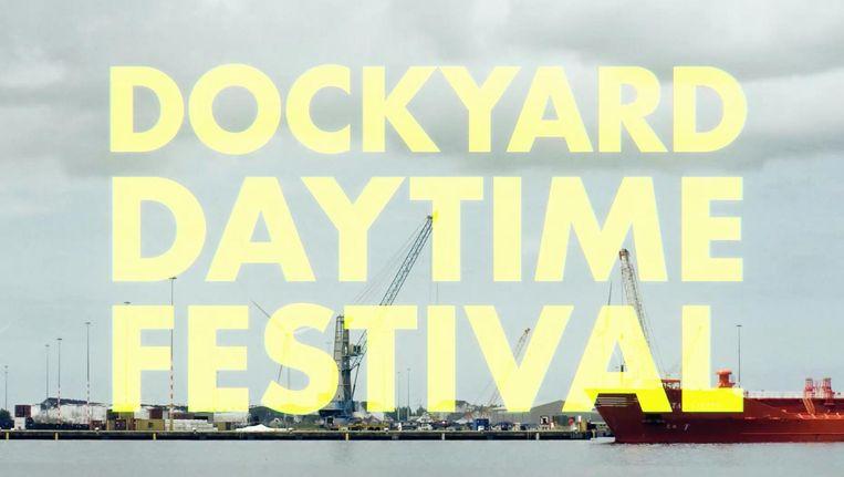 Bij wijze van proef mag Dockyard het nieuwe terrein met naar verwachting 12.000 bezoekers uitproberen. Beeld Dockyard Festival