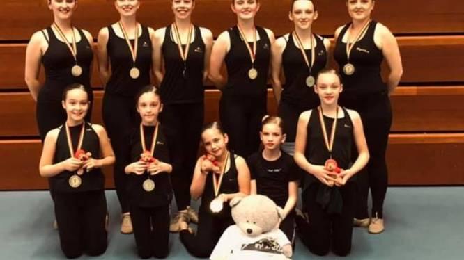 Twirl in Motion scoort tijdens provinciaal kampioenschap: vijfmaal goud