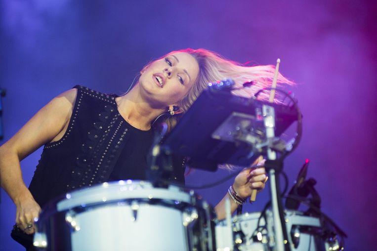Ellie Goulding. Beeld Alex Vanhee