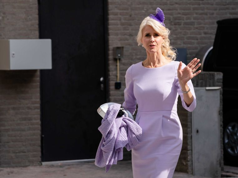 Mona Keijzer eerder deze week op Prinsjesdag. Beeld ANP