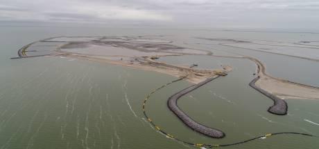 Opspuiten eilanden Marker Wadden is bijna klaar