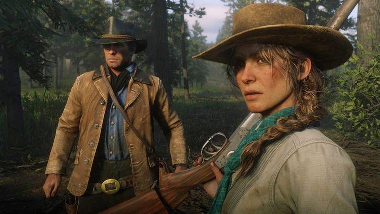 Red Dead Redemption 2 Beeld Rockstar