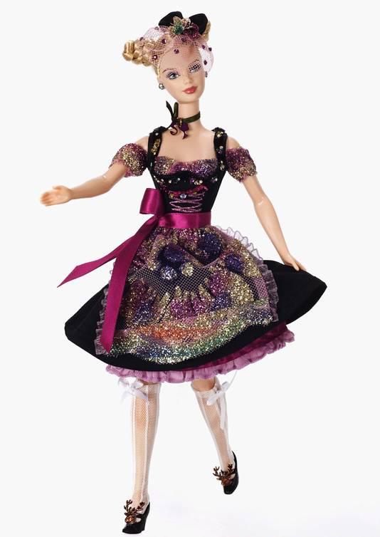 Onrealistisch: de wespentaille van Barbie