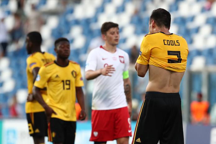 Douchés d'entrée, les Espoirs Belges sont quasiment contraints au six sur six pour espérer une demi-finale en Italie.