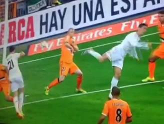 Geniale hak Cristiano behoedt Real van verlies tegen Valencia