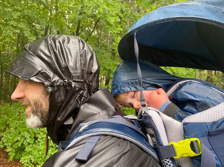 Huttentocht met kids: extra avontuur en uitdaging verzekerd. Beeld Matthijs Meeuwsen