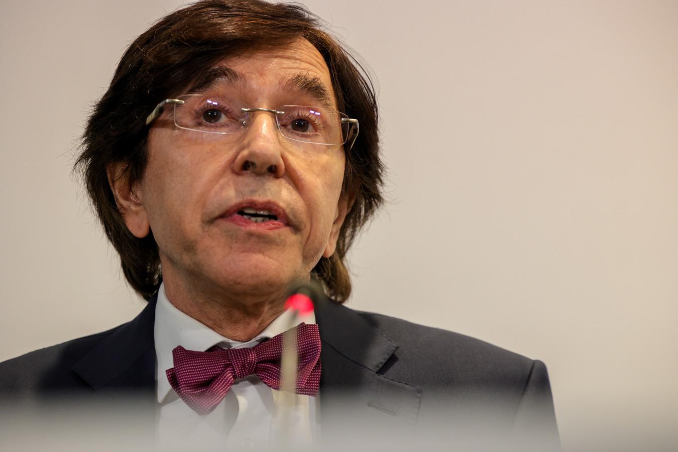 Elio Di Rupo is gespaard gebleven van veel negatieve commentaren.