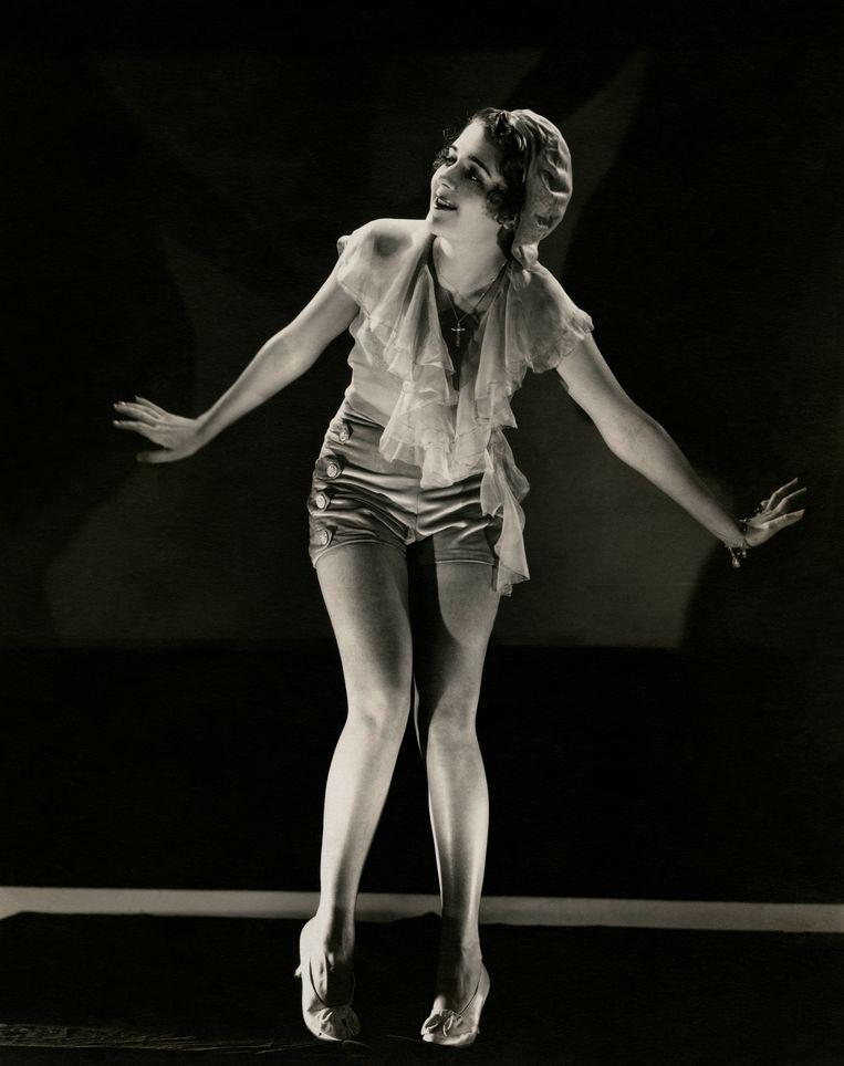 Ruby Keeler tapdanst in de film '42nd Street'. Beeld Getty