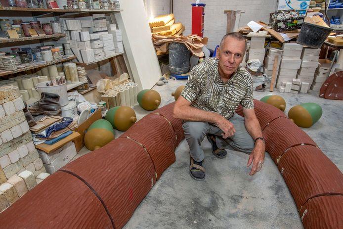Kunstenaar Michel Kuipers.