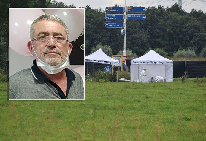 De man (inzet) die in Breedenbroek werd gevonden blijkt de Turkse nationaliteit te hebben en 62 jaar te zijn. De politie gaat ervan uit dat hij door een misdrijf om het leven is gekomen.