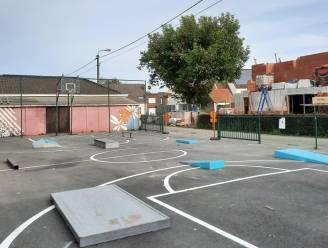 Mobiel skatepark ligt in Vinkt