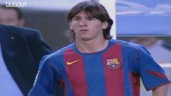 Lionel Messi maakte exact 15 jaar geleden zijn debuut voor Barcelona