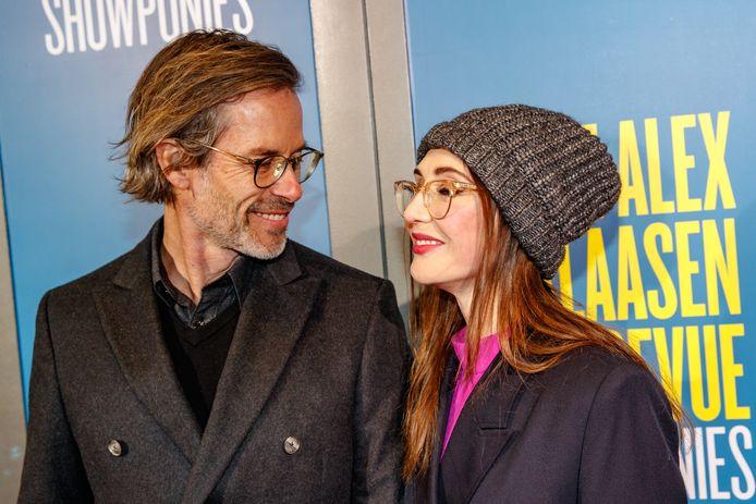 Carice van Houten met haar partner Guy Pearce