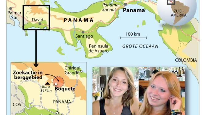 Half Panama zoekt naar vermiste Lisanne en Kris