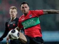 Hoofdblessure NEC-verdediger Mathias Bossaerts valt mee