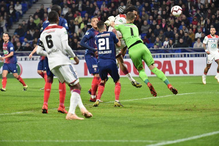 Denayer was weer van waarde voor Lyon.