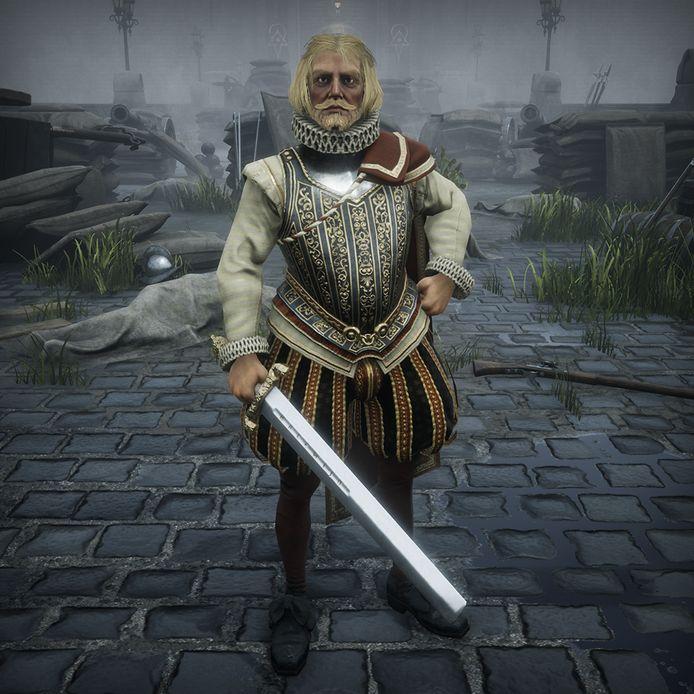 Heer Halewijn (zong een liedekijn), uit het middeleeuwse lied, kom je eveneens tegen in 'Black Legend'.