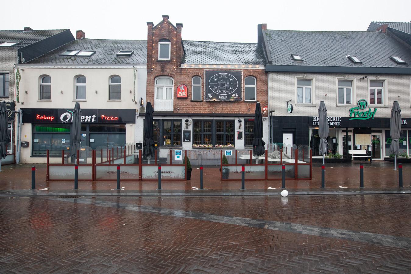 Café De Markt in Overpelt.
