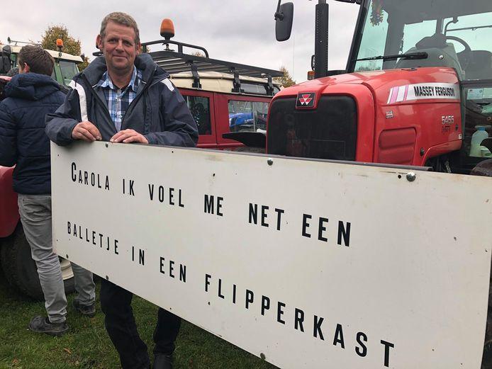 Harry van der Linden is aangekomen op het Malieveld