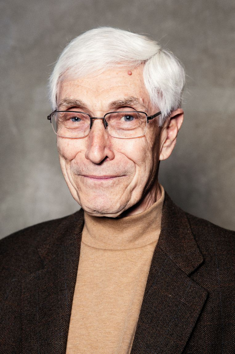 Harry Davids, 77, February 2020. Beeld Linda Stulic