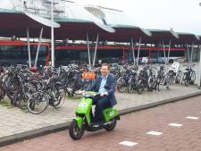 Elekrische deelscooter maakt entree op eiland