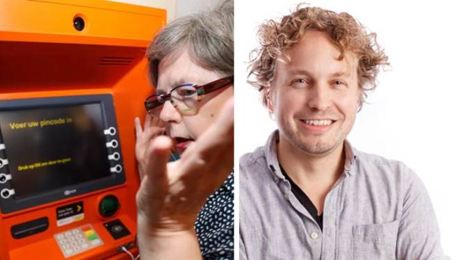 Een pinautomaat die praat: alles liever dan menselijke dienstverlening