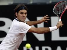 ATP Rome: Federer prend la porte, Djokovic tranquille