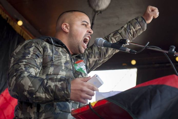 Rachid el Ghazaoui, alias rapper Appa.