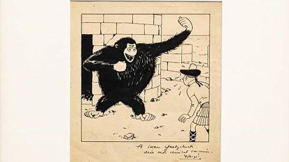 €264.000 voor Originele 'Kuifje'-tekening, maar er was op meer gehoopt