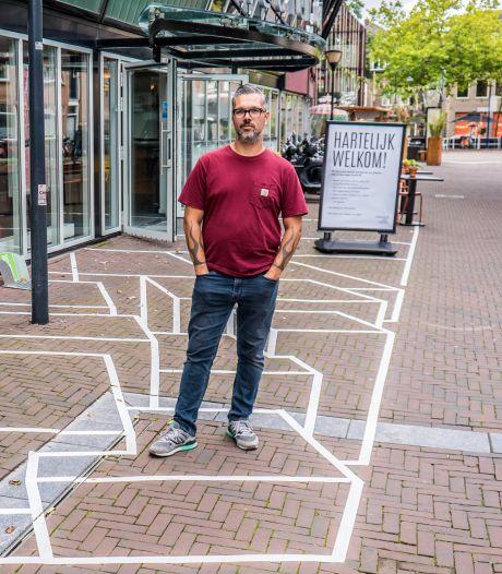 'Delft kan nog wel wat fleurige kunst gebruiken': Streetart-kunstenaar Micha de Bie staat te popelen
