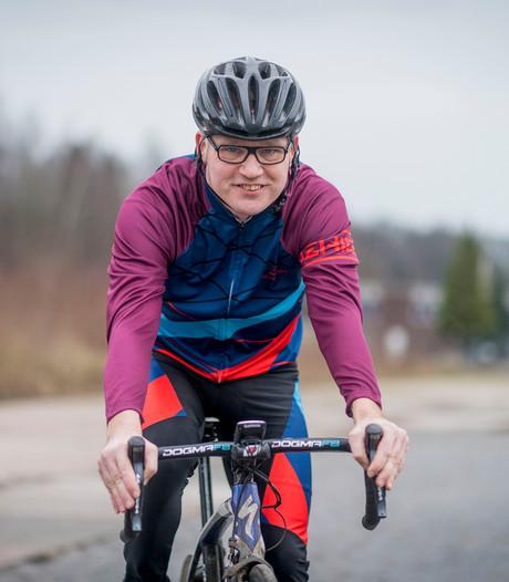 Claudius (43) uit Denekamp fietst 20.000 kilometer in 1 jaar