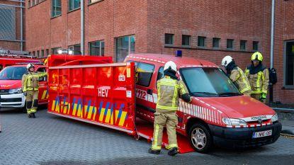 Brandweer Zone Rand stelt nieuw materieel voor op zonefeest