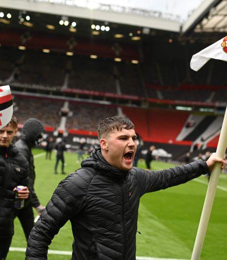 Manchester United-Liverpool afgelast na bizarre bestorming Old Trafford, City nog geen kampioen