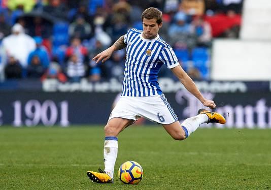 Inigo Martinez verruilt Real Sociedad voor de rivaal uit Bilbao.