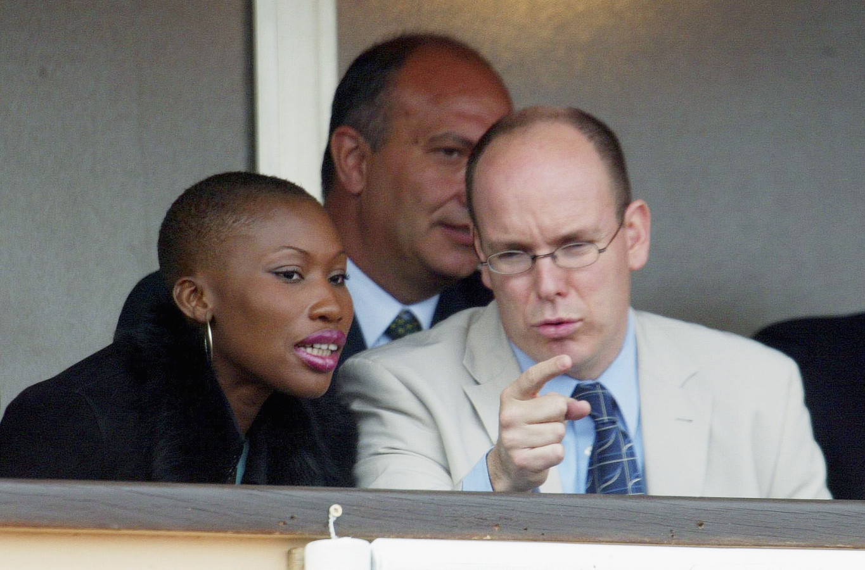 Albert de Monaco et Nicole Coste en 2005.