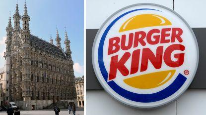 Ook in Leuven kan je binnenkort Whoppers eten