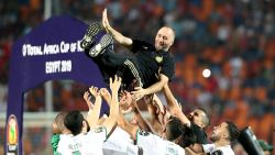 Algerije wint de Afrika Cup met het kleinste verschil na vroege goal tegen Senegal