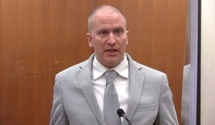L'ancien policier de Minneapolis, Derek Chauvin.