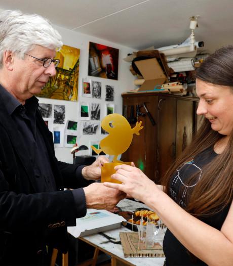 Raemansky uit Eede wint eerste 'Gouden Paletje' van de Kinderkunstweek