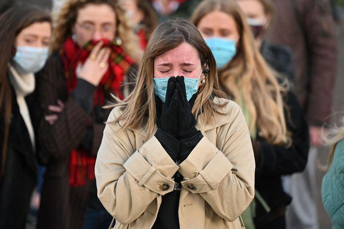 Veel vrouwen in Engeland zijn woedend en verontwaardigd over de moord op Sarah Everard.